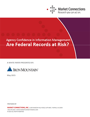 Are Federal Records at Risk? Agency Confidence in Information Management