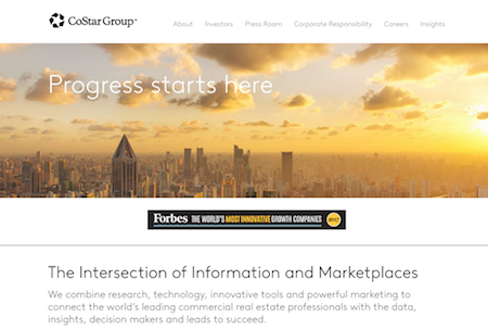 CoStar Group website