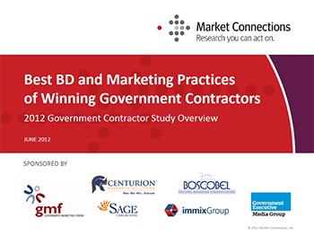Government Contractor Study 2012