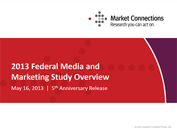 Federal Media & Marketing Study 2013