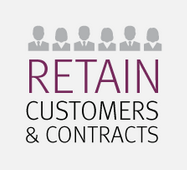 Retain customers and contracts